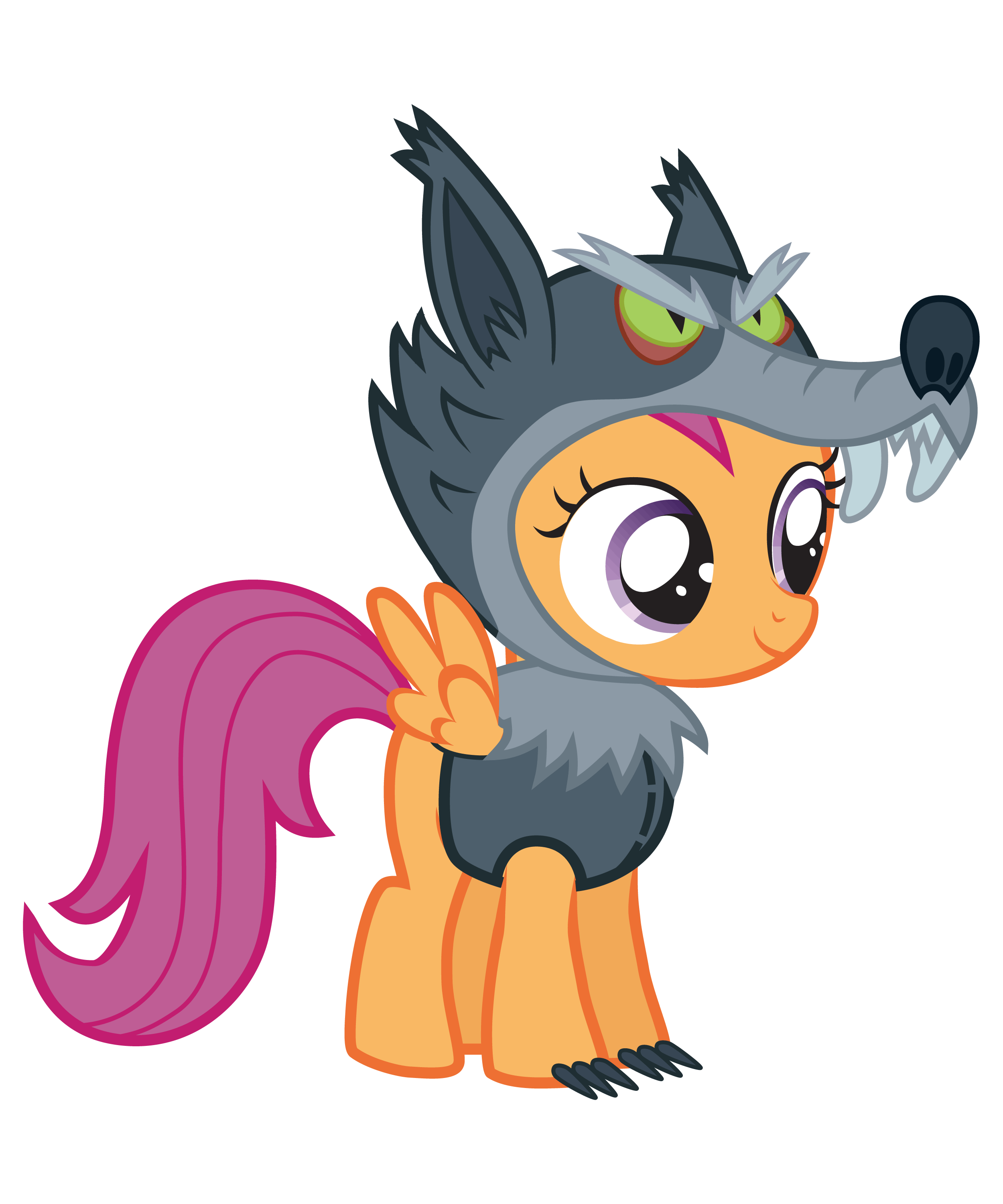 Scootaloo Nightmare Night by Vectorshy