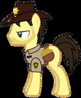 Rick Grimes Pony Version 2 by Vectorshy