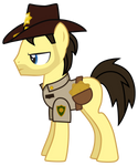 Rick Grimes Pony Version 2