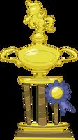 Applejack's Trophy by Vectorshy
