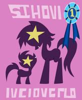 Sisterhooves Social Poster by Vectorshy