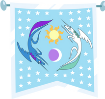 Equestria Founding Flag by Vectorshy