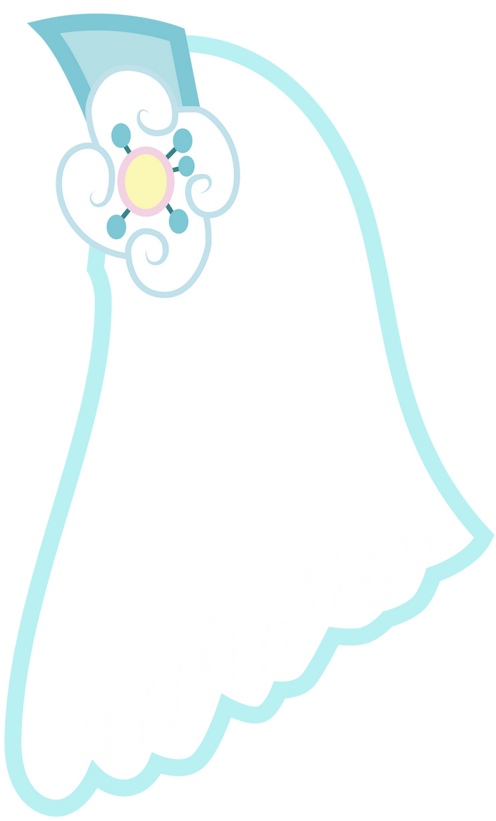 Cheerilee's Wedding Veil by Vectorshy