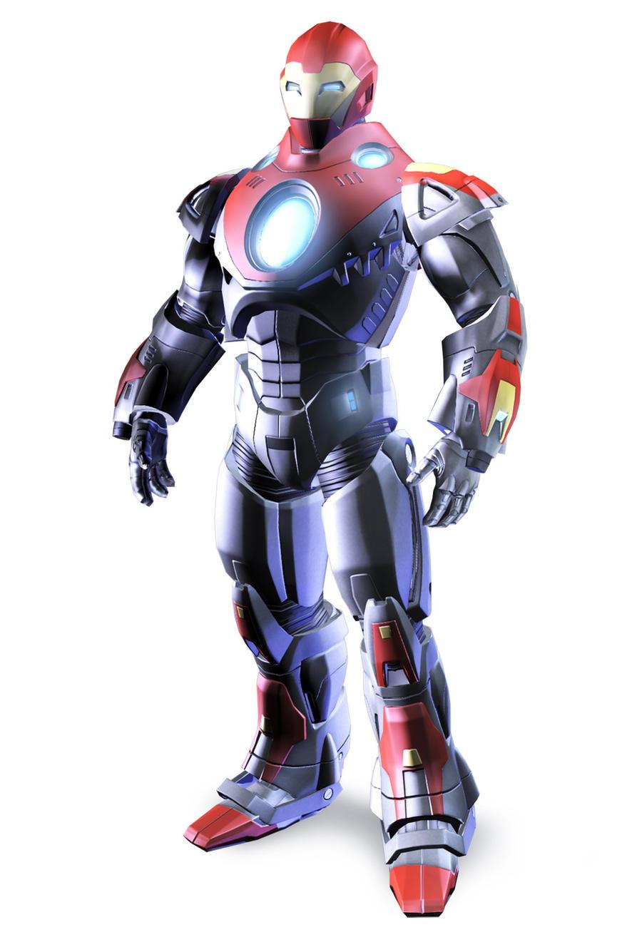 Ultimate Iron Man Armor by BluePhoenix012 on DeviantArt