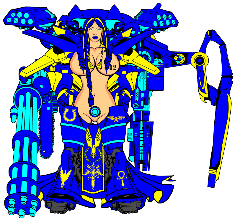 Warhammer Sexy Ultramarine 01 By Bluephoenix012 On Deviantart