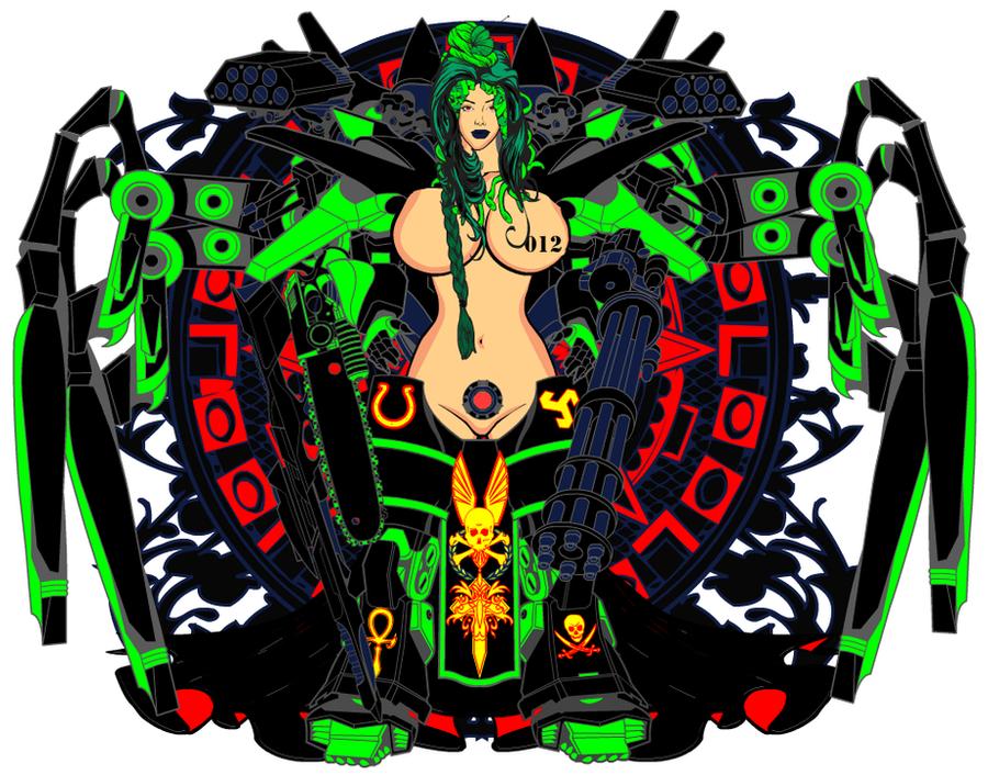 Sexy Chaos Guard Marine 01 by BluePhoenix012