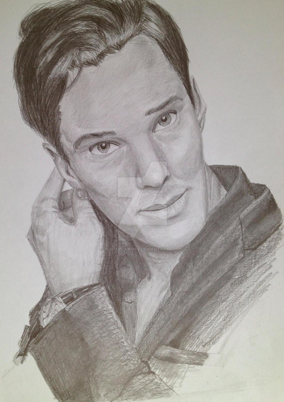 Benedict Cumberbatch by GrayCanidae