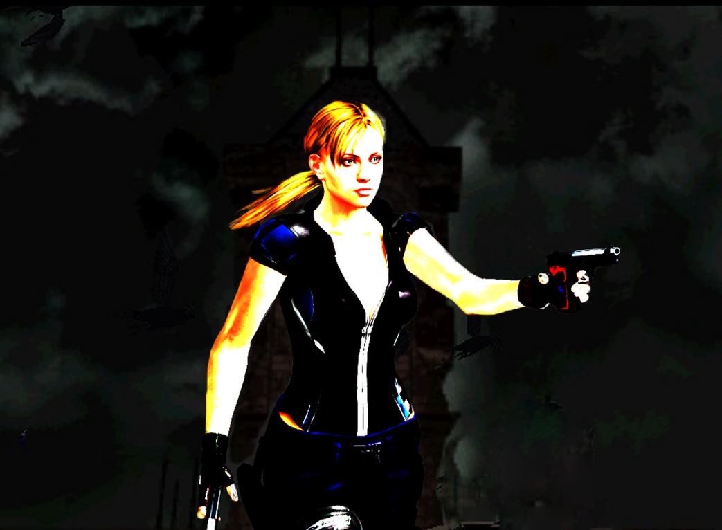 Resident Evil 3 Nemesis clock tower by deangagaTR