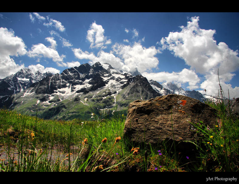 Distant Mountain 2 by Stevie73