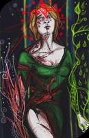 Red Lyrium Inquisitor Trevelyan Tarot by Svetkoshka
