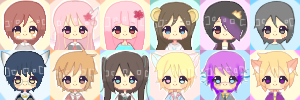 Pixel Icons Batch 1 [G] by namiirin