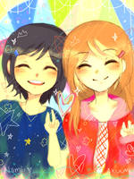 Me and Linneaaa by namiirin
