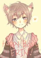 Happy Birthdaaay Erin!! by namiirin