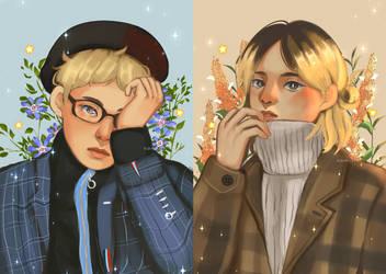[C] Tsukki and Kenma