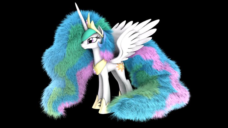 mlp_fluffy___princess_celestia_by_veryol