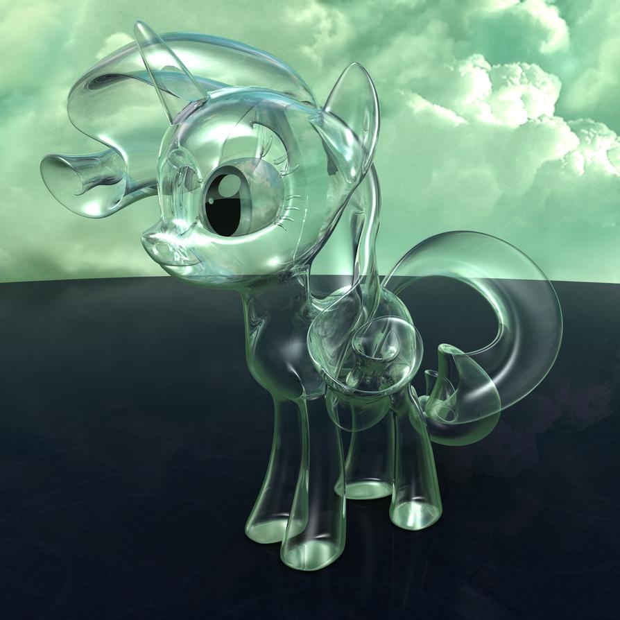 MLP Rarity Glass by VeryOldBrony