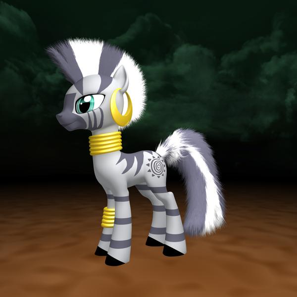MLP Fluffy - Zecora by VeryOldBrony