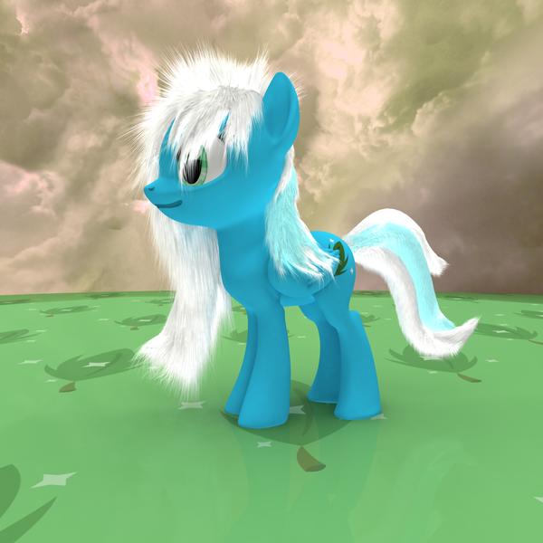 MLP Fluffy - Shiny Mint by VeryOldBrony