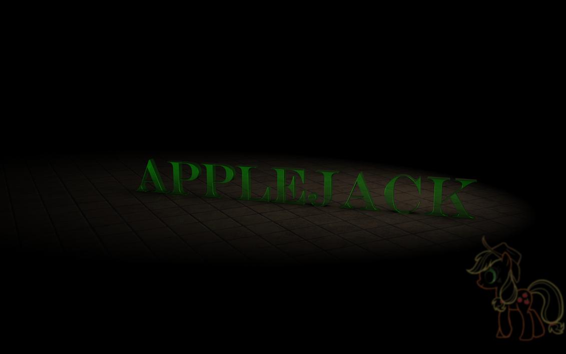 Simple Background :: Applejack by VeryOldBrony