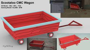Scootaloo CMC Wagon by VeryOldBrony