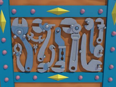 Girl Genius, Tools, WIP 01 by dudecon