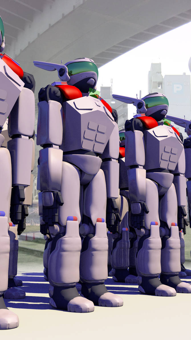 Tokyo Police Cataclysm Division Mechs