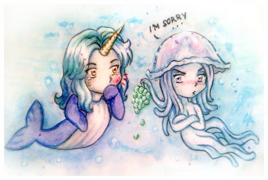 Jelly friendship by MissTrisi