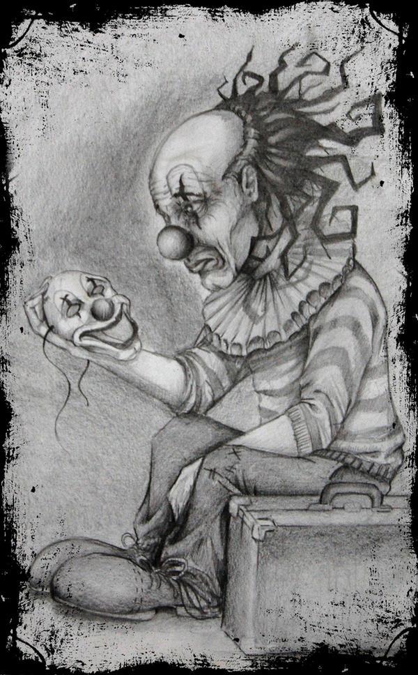 Pictures Of Sad Gangster Clown Drawings Kidskunst Info
