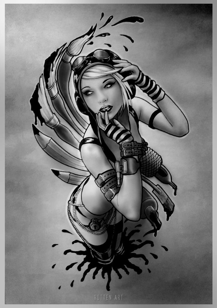 Art Girl by dmrotten