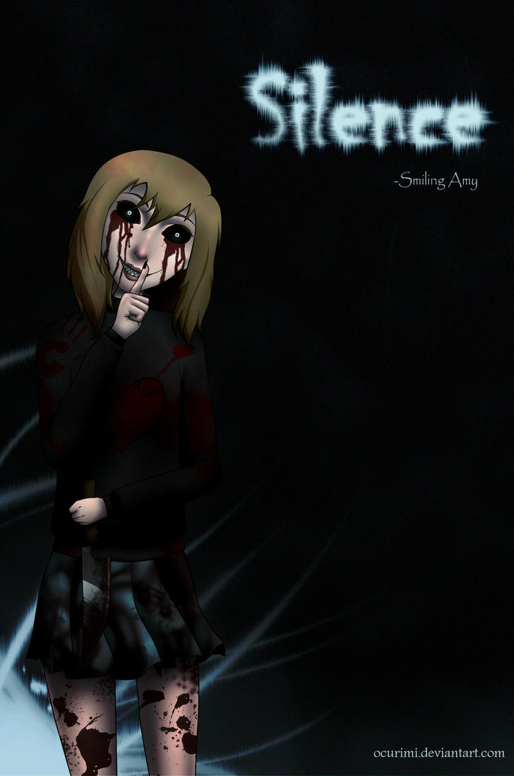Silence---New Creepypasta OC by Ocurimi