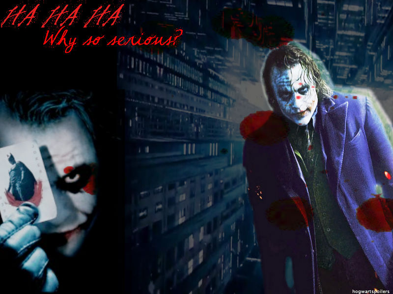Why So Serious The Joker By Aprilraindelain