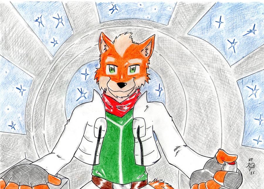Fox Mccloud by Danilofanzineiro
