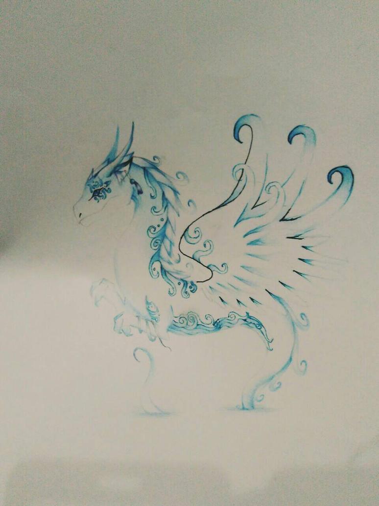 ocean angel by flamedemon09