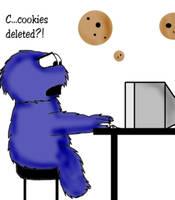 Cookie Monster by reixkairu