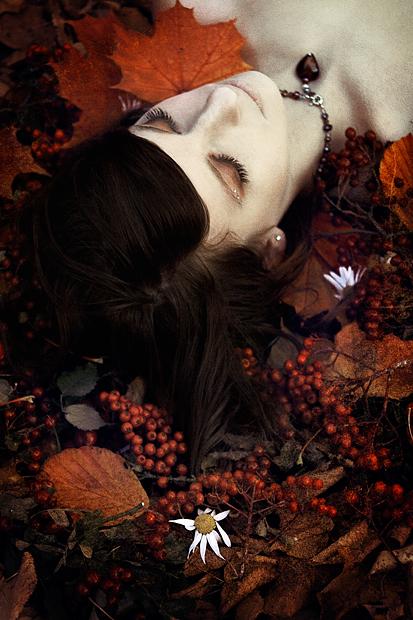 _autumn sleep II. by Bloddroppe