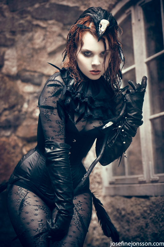 _Raven. by Bloddroppe