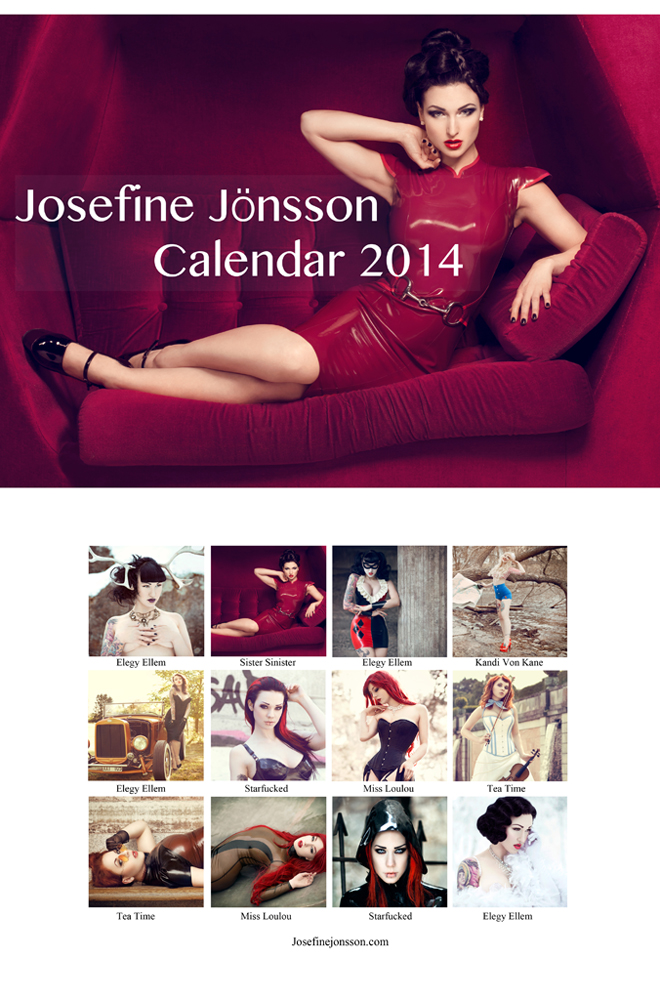 _Calendar 2014 FOR SALE NOW. by Bloddroppe