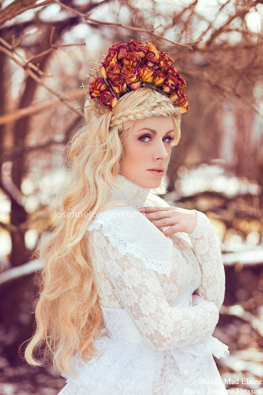 _White Queen. by Bloddroppe