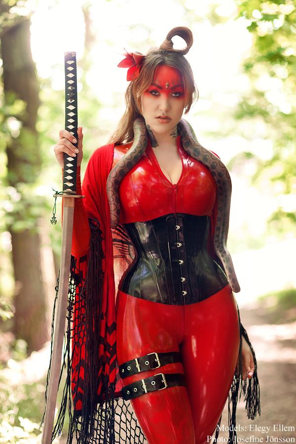 _Elegy Red. by josefinejonssonphoto