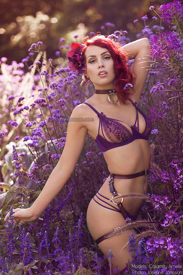 _purple ocean II. by josefinejonssonphoto