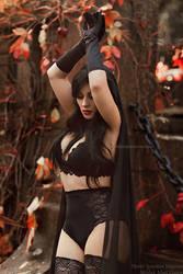 _Lady of the dark III. by josefinejonssonphoto