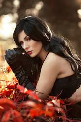 _Lady of the dark VI. by josefinejonssonphoto