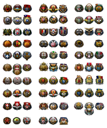Hearts of Iron 4 - Darkest Hour - Military Icons by Arvidus89