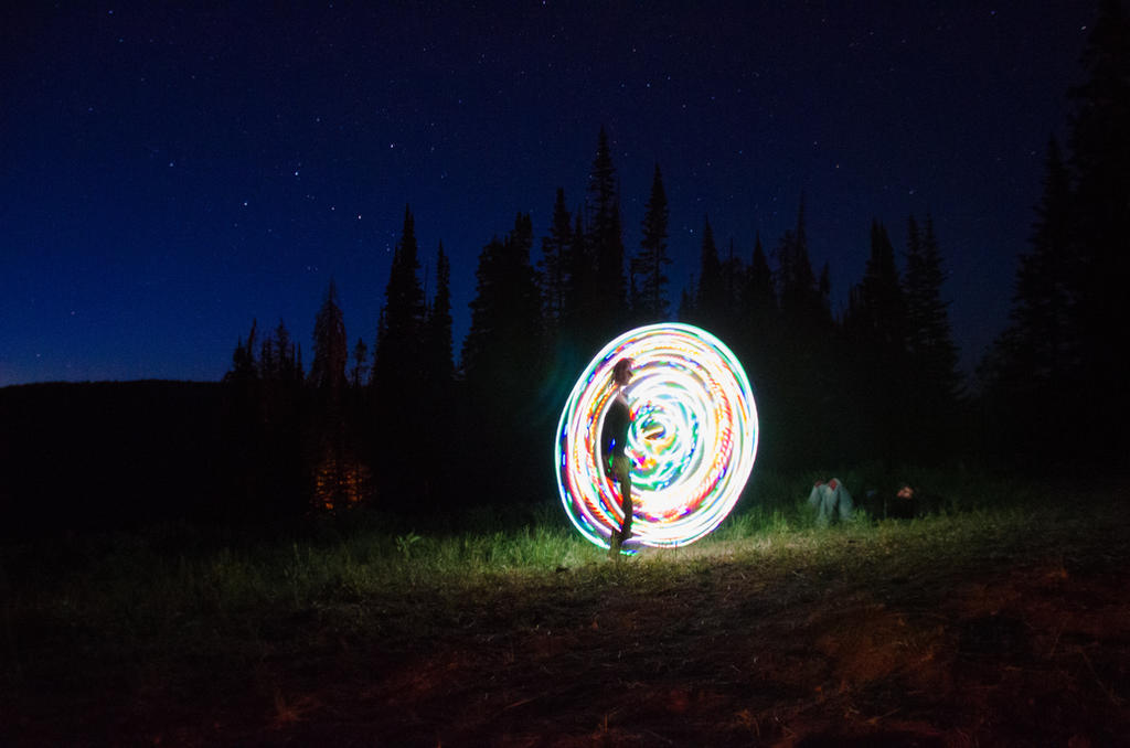 Rainbow Hoop by wokeuptopless