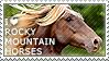 I love Rocky Mountain Horses