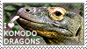 I love Komodo Dragons by WishmasterAlchemist