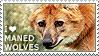 I love Maned Wolves by WishmasterAlchemist