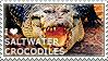 I love Saltwater Crocodiles by WishmasterAlchemist