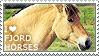 I love Fjord Horses by WishmasterAlchemist