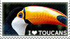 I love Toucans by WishmasterAlchemist